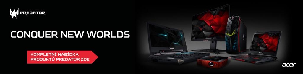 Známá společnost Acer se rozhodla oslovit ty nejnáročnější hráče zcela  novou modelovou řadou Predator. Ke špičkovému počítači nebo notebooku však  ... 8320fe91c4