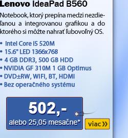 Lenovo IdeaPad B560