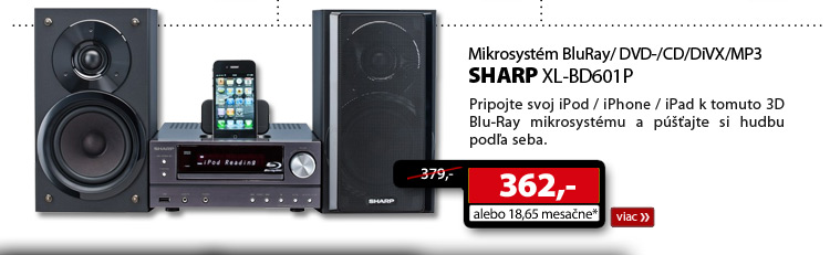 SHARP XL-BD601P