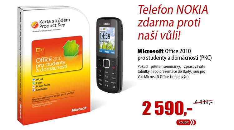 Microsoft Office 2010 pro studenty a domácnosti