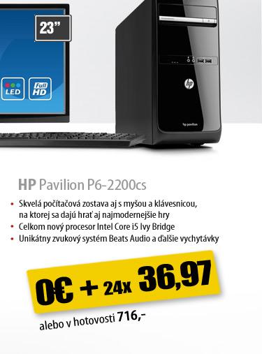 HP Pavilion P6-2200cs
