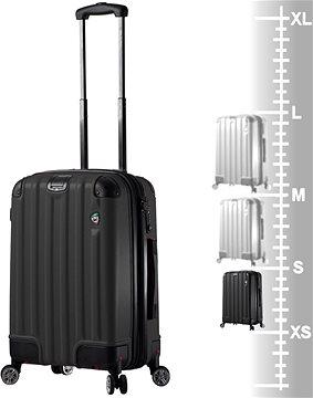 dc4f99f4534 Mia Toro M1300 3-S - černá - Cestovní kufr s TSA zámkem