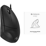 Eternico Wired Vertical Mouse MDV100 černá - Myš