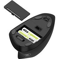Eternico Wireless 2.4 GHz Vertical Mouse MV100 pro leváky černá - Myš