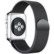 Eternico 42mm / 44mm / 45mm Elegance Milanese pro Apple Watch černý - Řemínek