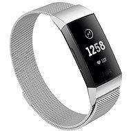 Eternico Fitbit Charge 3 / 4 Steel stříbrný (Small) - Řemínek