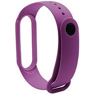 Eternico Silicone fialový pro Mi Band 5 / 6 - Řemínek