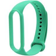 Eternico Silicone zelený pro Mi Band 5 / 6 - Řemínek