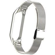 Eternico Mesh Stainless Steel stříbrný pro Mi Band 5 / 6 - Řemínek