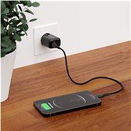 AlzaPower A100 Fast Charge 20W černá - Nabíječka do sítě