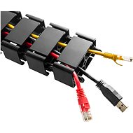AlzaErgo CM110 černá - Organizér kabelů