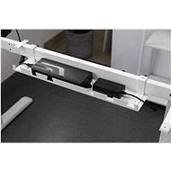 AlzaErgo CMT120 bílý - Organizér kabelů