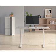 AlzaErgo Table ET3 bílý - Výškově nastavitelný stůl