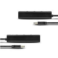 AXAGON HUE-S2BL 4-Port USB 3.0 CHARGING hub - USB Hub