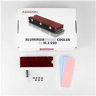 AXAGON CLR-M2 ALU - Chladič pevného disku