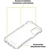 AlzaGuard Shockproof Case pro iPhone 12 Mini - Kryt na mobil
