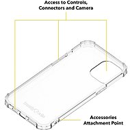 AlzaGuard Shockproof Case pro iPhone 12 Pro Max - Kryt na mobil