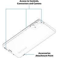 AlzaGuard Crystal Clear TPU Case pro Samsung Galaxy S20 FE - Kryt na mobil