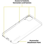 AlzaGuard Crystal Clear TPU Case pro Huawei P40 Lite - Kryt na mobil
