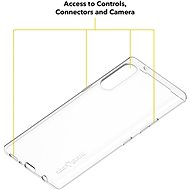 AlzaGuard Crystal Clear TPU Case pro LG Velvet - Kryt na mobil