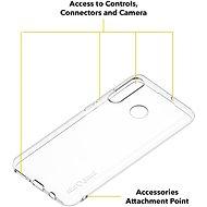 AlzaGuard Crystal Clear TPU Case pro Huawei P30 Lite - Kryt na mobil