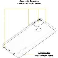 AlzaGuard Crystal Clear TPU Case pro Samsung Galaxy A21s - Kryt na mobil