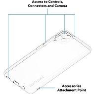 AlzaGuard Crystal Clear TPU Case pro Samsung Galaxy A12 - Kryt na mobil