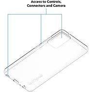 AlzaGuard Crystal Clear TPU Case pro Samsung Galaxy A52 / A52 5G - Kryt na mobil
