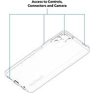 AlzaGuard Crystal Clear TPU case pro Xiaomi Redmi Note 10 / 10S - Kryt na mobil