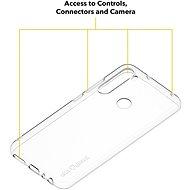 AlzaGuard Crystal Clear TPU case pro Xiaomi Redmi Note 8 - Kryt na mobil