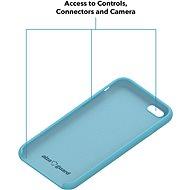 AlzaGuard Premium Liquid Silicone Case pro iPhone 7 / 8 / SE 2020 modré - Kryt na mobil