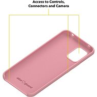 AlzaGuard Premium Liquid Silicone Case pro Xiaomi Mi 10 Lite 5G růžové - Kryt na mobil