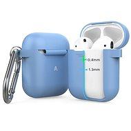 AhaStyle kryt AirPods 1 & 2 s LED indikací nebesky modrý - Pouzdro na sluchátka