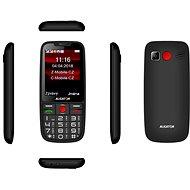 ALIGATOR A890 GPS Senior černá - Mobilní telefon