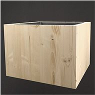 AMADEA Dřevěný obal na květináč, 33x33x24cm - Obal na květináč