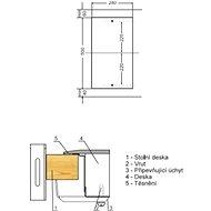 AMICA DDPS 3201 LZBG - Varná deska
