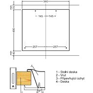 AMICA DP 6403 AZX - Varná deska