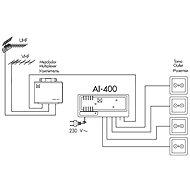 Alcad AI-400 - Zesilovač