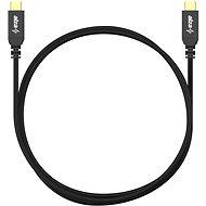 AlzaPower AluCore USB-C / USB-C 2.0, 5A, 100W, 0.5m černý - Datový kabel