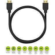 AlzaPower Premium HDMI 2.0 High Speed 4K 1.5m - Video kabel