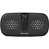 AlzaPower WF430 Wireless Dual Charger černá - Bezdrátová nabíječka