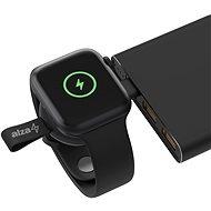 AlzaPower Wireless Watch charger 120 USB-C černá - Bezdrátová nabíječka