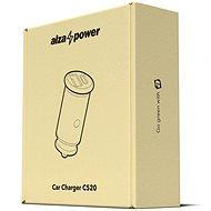 AlzaPower Car Charger C520 Fast Charge + Power Delivery černá - Nabíječka do auta