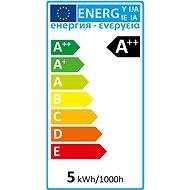 AlzaPower LED Classic Ambience Candle 4,3W (40W), 2700K, E14, set 3ks - LED žárovka