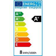 AlzaPower LED Essential 8W (60W), 4000K, E27, set 3ks - LED žárovka