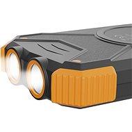 AlzaPower SolarScout 10000mAh oranžová - Powerbanka