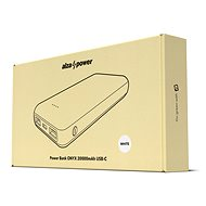 AlzaPower Onyx 20000mAh USB-C bílá - Powerbanka