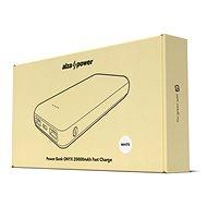 AlzaPower Onyx 20000mAh Fast Charge + PD3.0 bílá - Powerbanka