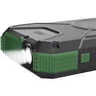 AlzaPower SolarScout 20000mAh zelená - Powerbanka