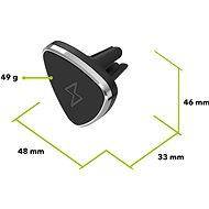 AlzaPower Holder FMC400 černý - Držák na mobilní telefon